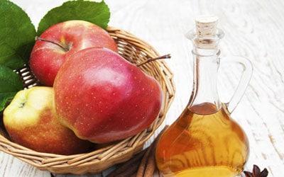 درمان گیاهی شقاق با سرکه سیب