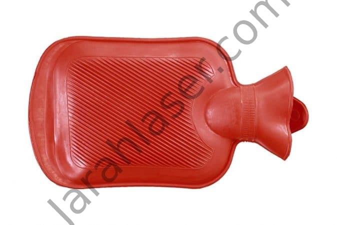 درمان کیست مویی با کمپرس آبگرم